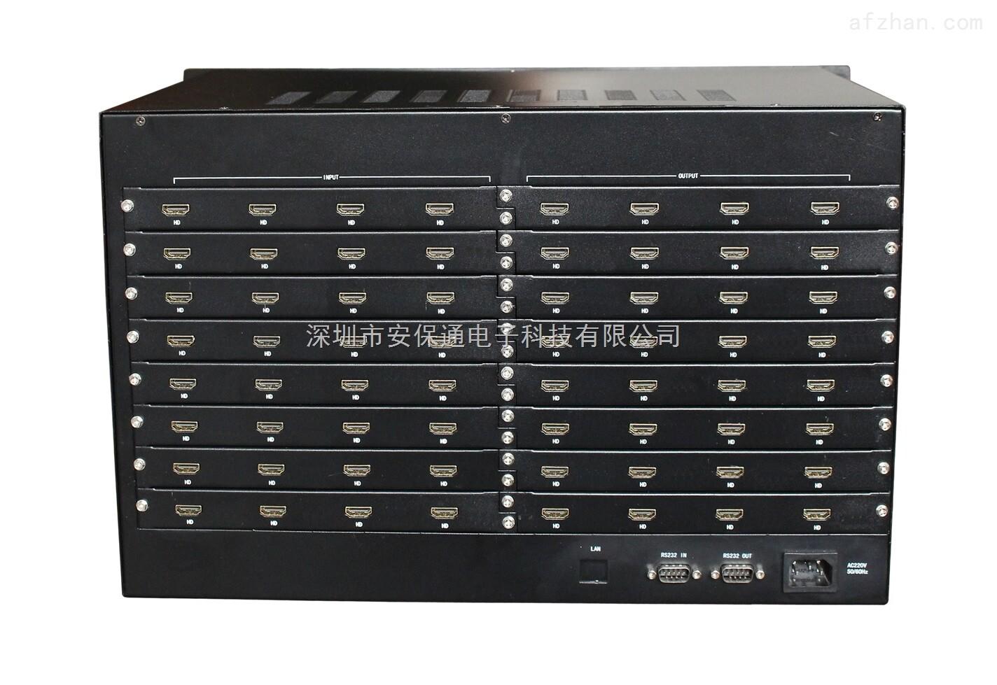 32进32出HDMI无缝矩阵切换器