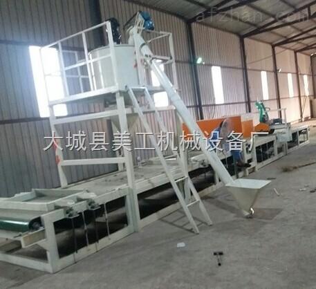 岩棉砂浆复合板设备生产线 精工细作
