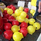 山东海洋养殖线缆浮球聚乙烯浮球