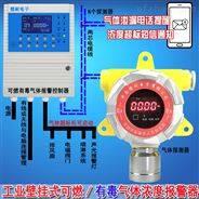 固定式石油醚泄漏报警器,远程监测