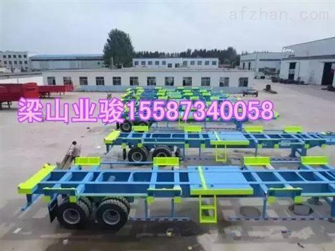 255小轮胎 集装箱运输半挂汽车参数载重标准