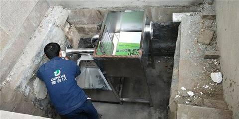 饭店 餐厨残渣油水分离器 安装