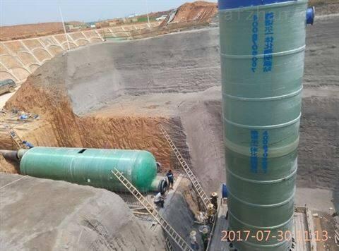 消防 玻璃钢一体化雨水提升泵站 设备