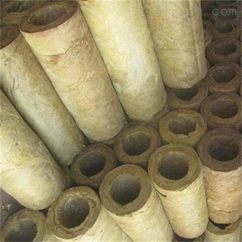 冷热管道保温岩棉管密度价格