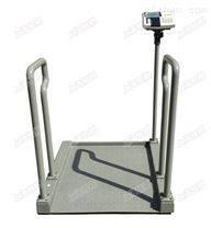 医院透析称重碳钢轮椅秤