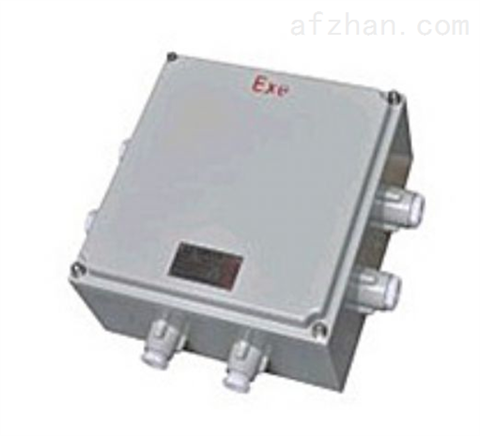 BJX铸铝防爆接线箱型号