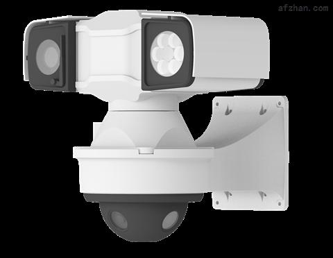 360度多目拼接全景云台联动摄像机