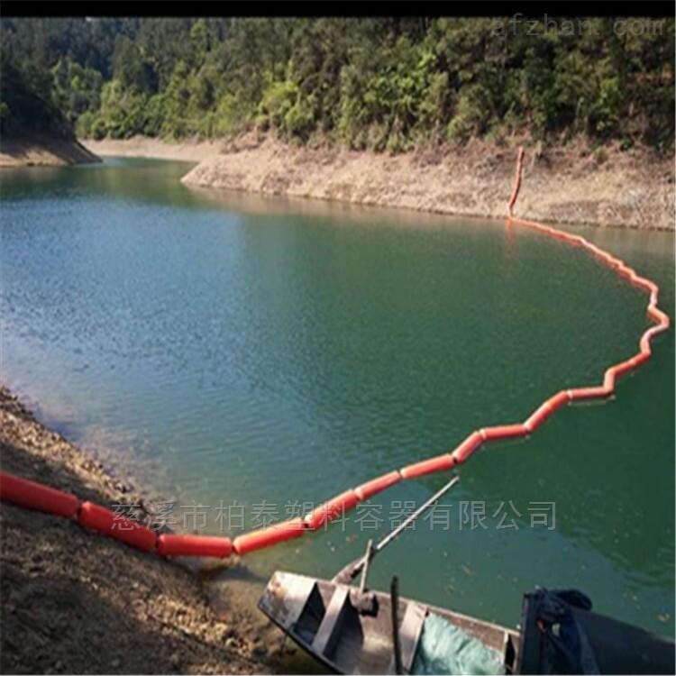 水面拦污塑料桶 河道拦垃圾浮漂