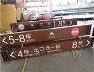 安徽商场大厅吊牌及办公室门牌设计