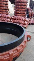广东省219矿用柔性短管式卡箍厂家