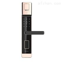 ??低旸S-L5W指紋智能門鎖 上門安裝