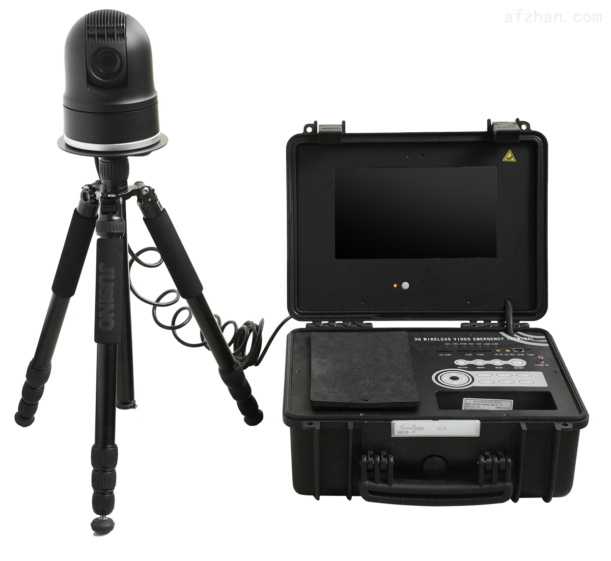 山东移动应急指挥箱,电力无线监控系统
