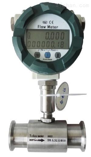 泉州DN32卫生型卡箍连接涡轮流量计