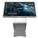 触摸屏显示器触摸一体机可以代替投影仪吗?