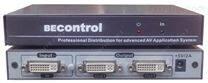 DVI视频分配器 1进2出DVI分屏器