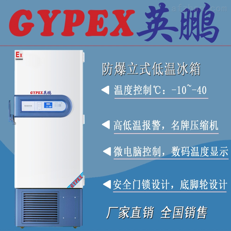 低温防爆冰箱-20℃~ -40℃