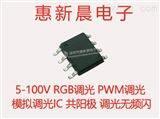 LED景观照明驱动器RGBW调光恒流芯片H5112