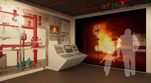 互动式楼宇消防系统体验