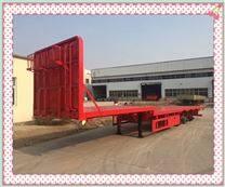 13米半挂平板运输车济宁统一价格出售