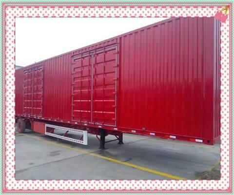 标准二轴集装箱半挂车价格及参数