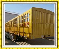 标准粮食运输仓栏半挂车13米价格配置