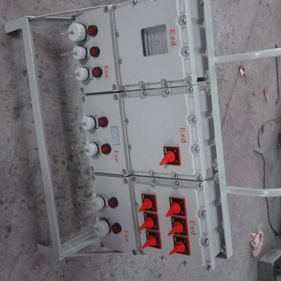 BXX53双层门防爆检修箱