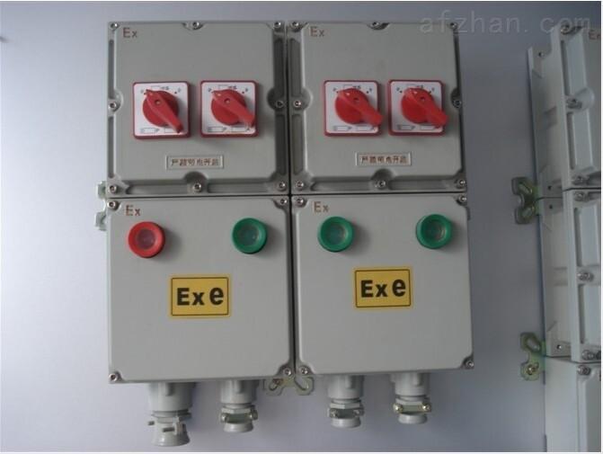 一用一备供排水泵防爆控制箱