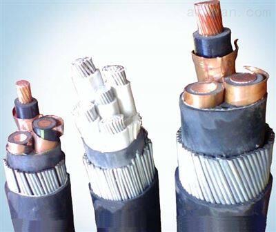 YJLV42粗钢丝铠装铝芯电力电缆