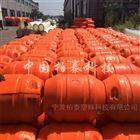 河面抽水管道浮体 280mm管线浮筒厂家