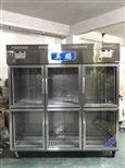 BL-200BXG1000L玻璃門六門不鏽鋼防爆冰箱