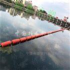 水库拦污浮漂 漂浮式拦截栅栏 拦漂浮筒作用