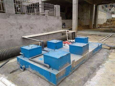 每天处理200吨地埋式生活污水处理设备装置