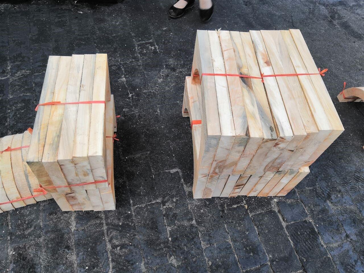 水管木托厂家,河北垫木,木垫