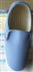 浅蓝色透气防静电实面鞋