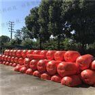 水库拦污设备浮筒厂家 水电站拦漂浮桶规格