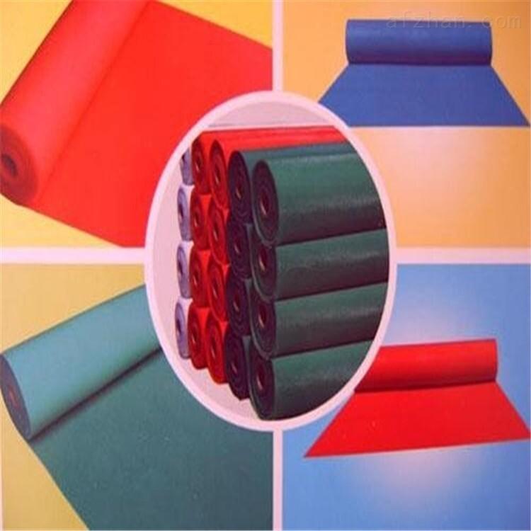 黄山彩色橡塑板厂家专业资料