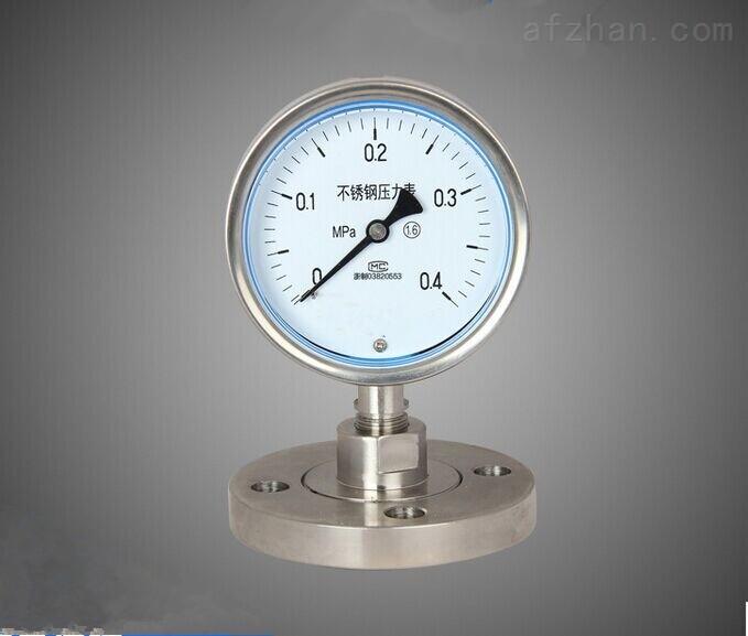 西安锈钢隔膜压力表价格