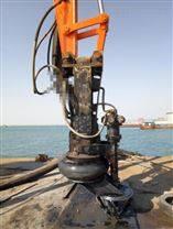 今日推荐挖机铰刀搅稀泥浆泵耐磨潜水渣浆泵