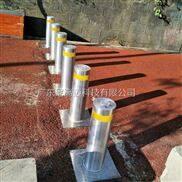 手动阻车路障护柱校门升降式隔离液压柱