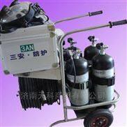 推车式长管空气呼吸器应用