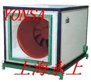 HLF-6-13A低噪音混流卧式镀锌板风机箱-永上