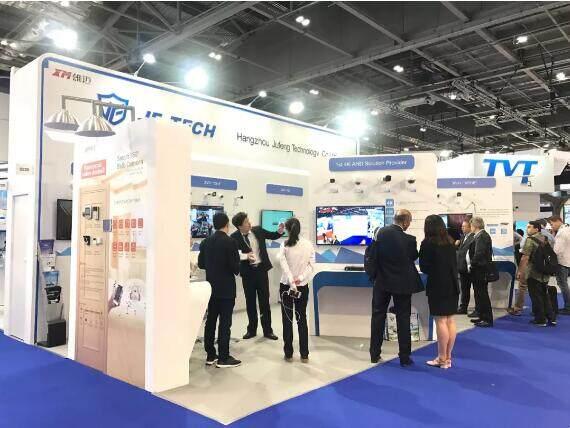 巨峰在英国 IFSEC International 2018