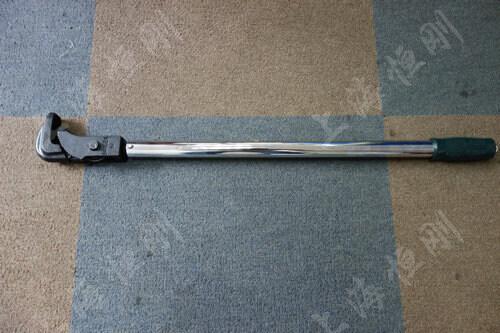 套筒可调式扭力扳手图片     配管钳头