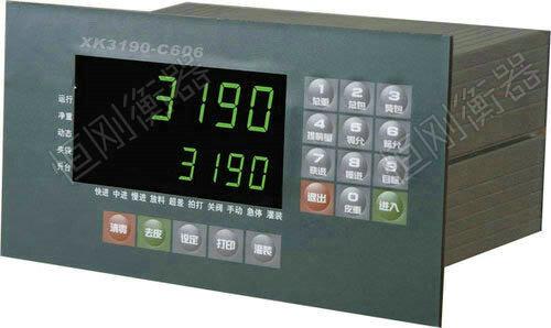 XK3190-C606地磅显示器