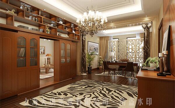 书柜隐形密室门